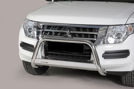 Mitsubishi Pajero 2015+pushbar 63 mm met CE / EU certificaat