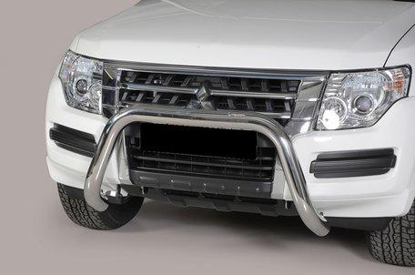 Mitsubishi Pajero 2015+ pushbar 76 mm met CE / EU certificaat