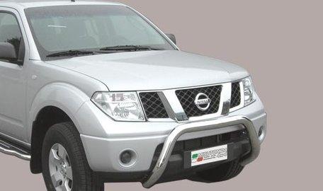 Nissan Navara 2005 tot 2010 pushbar 76 mm met CE / EU certificaat