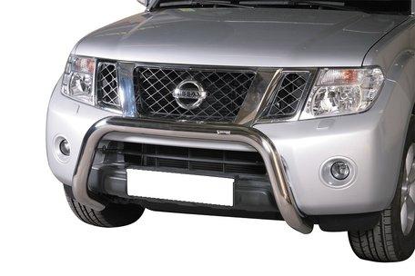 Nissan Navara 2010+ pushbar 76 mm met CE / EU certificaat