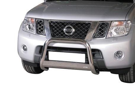 Nissan Navara 2010+ pushbar 63 mm met CE / EU certificaat