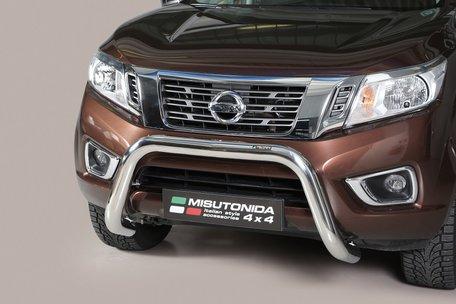 Nissan Navara 2016+ pushbar 76 mm met CE / EU certificaat