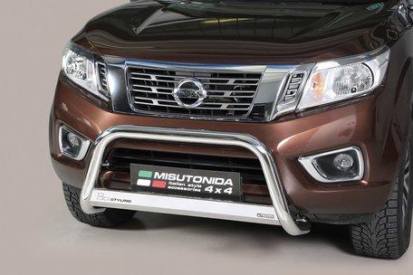 Nissan Navara 2016+ pushbar 63 mm met CE / EU certificaat