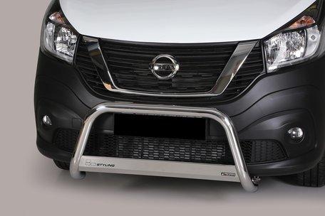 Nissan NV 300 pushbar 63 mm met CE / EU certificaat