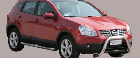 Nissan Qashqai 2007 tot 2010 pushbar 76 mm met CE / EU certificaat