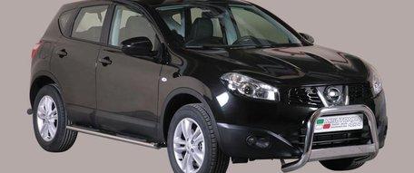 Nissan Qashqai 2011 tot 2012 pushbar 63 mm met CE / EU certificaat