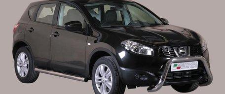 Nissan Qashqai 2011 tot 2013 pushbar 76 mm met CE / EU certificaat