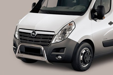 Opel Movano Pushbar 63 mm met CE / EU certificaat