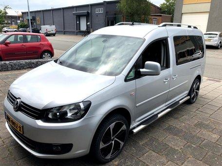 Volkswagen Caddy Maxi dakrails aluminium
