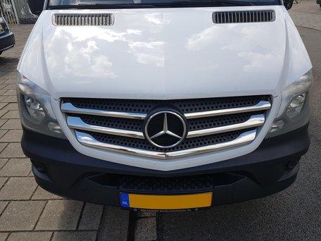 Mercedes Sprinter 2013+ RVS glanzend gril overzet