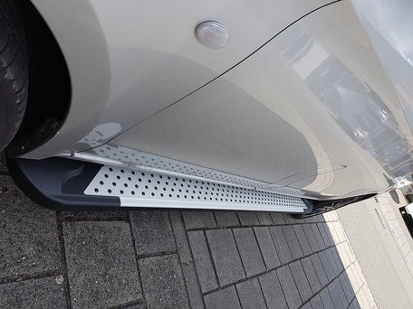 Renault Trafic 2014+ L2 treeplanken aluminium