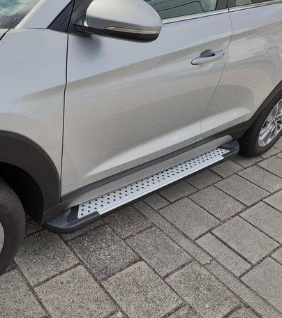 Opel Mokka(X) treeplanken aluminium