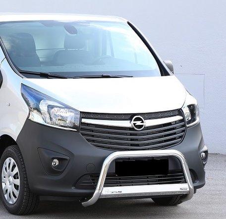 Opel Vivaro 2014+ pushbar 63 mm met CE / EU certificaat