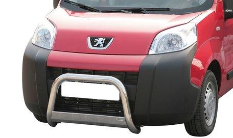 Peugeot Bipper pushbar 63 mm met CE / EU certificaat