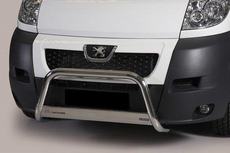Peugeot Boxer 2007 tot 2013 pushbar 63 mm met CE / EU certificaat