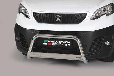 Peugeot Expert 2016+ pushbar 63 mm met CE / EU keurmerk