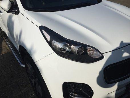 Kia Sportage 2015+ sidebars 60 mm met RVS trede
