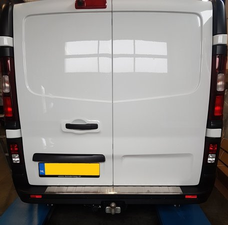 Opel Vivaro 2014+ RVS bumperplaatbeschermer