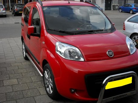 Fiat Fiorino sidebar 70 mm recht