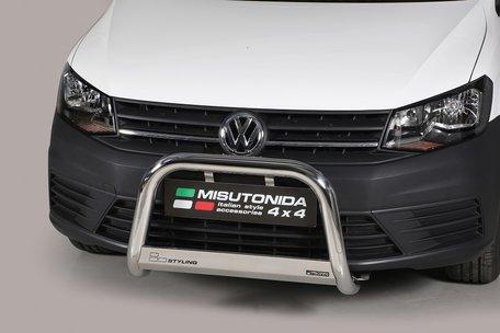Volkswagen Caddy vanaf 2015 Pushbar 63 mm met CE/EU Certificaat