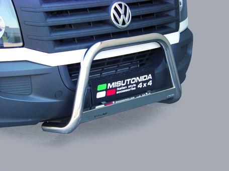 Volkswagen Crafter tot 2016 Pushbar 63 mm met CE/EU Certificaat