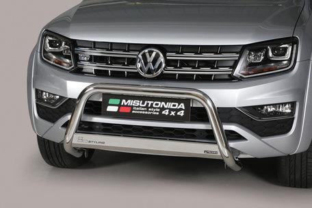 Volkswagen Amarok vanaf 2016 Pushbar 63 mm met CE/EU Certificaat