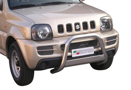Suzuki Jimny 2006 tot 2012 Pushbar 63 mm met CE/EU Certificaat