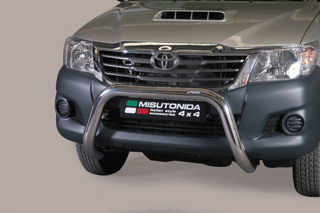 Toyota Hi-Lux van 2012 tot 2016 pushbar 76 mm met CE / EU certificaat
