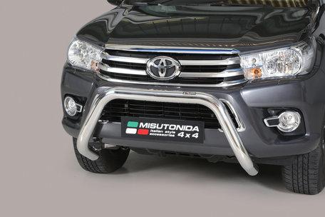 Toyota Hi-Lux vanaf 2016 pushbar 76 mm met CE / EU certificaat