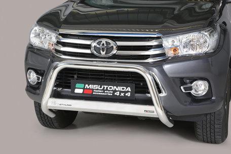 Toyota Hi-Lux vanaf 2016 pushbar 63 mm met CE / EU certificaat