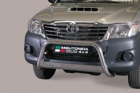 Toyota Hi-Lux van 2012 tot 2016 pushbar 63 mm met CE / EU certificaat