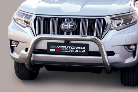 Toyota Landcruiser 2018 pushbar 76 mm met CE / EU certificaat
