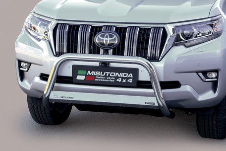 Toyota Landcruiser 2018 pushbar 63 mm met CE / EU certificaat