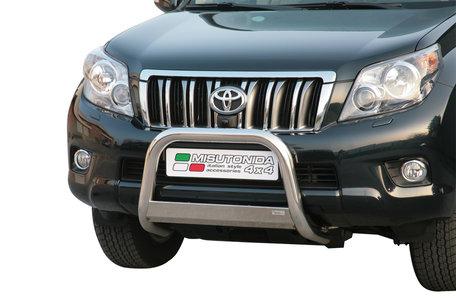 Toyota Landcruiser vanaf 2009 tot 2013 pushbar 63 mm met CE / EU certificaat