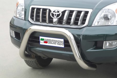 Toyota Landcruiser 120 pushbar 76 mm met CE / EU certificaat