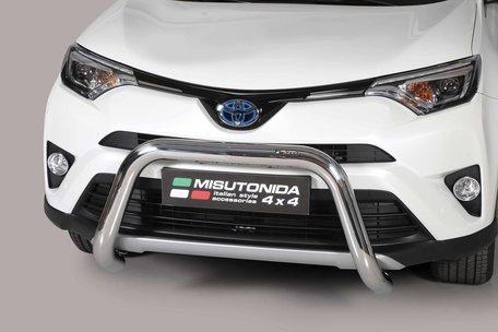 Toyota RAV 4 vanaf 2016 Pushbar 76 mm met CE/EU Certificaat