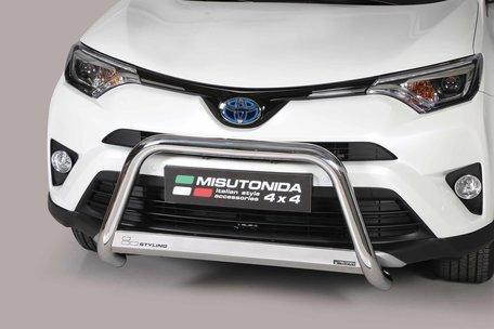 Toyota RAV 4 vanaf 2016 Pushbar 63 mm met CE/EU Certificaat
