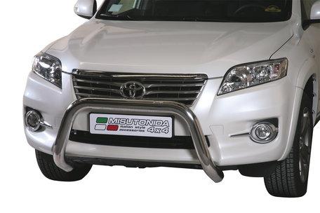 Toyota RAV 4 van 2010 tot 2012 Pushbar 76 mm met CE/EU Certificaat