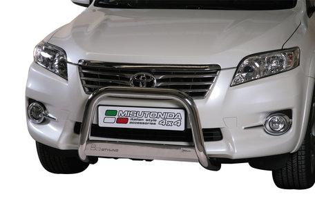 Toyota RAV 4 van 2010 tot 2012 Pushbar 63 mm met CE/EU Certificaat