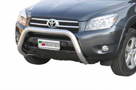 Toyota RAV 4 van 2006 tot 2009 Pushbar 76 mm met CE/EU Certificaat