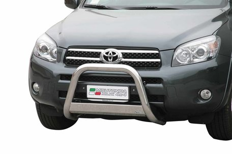 Toyota RAV 4 van 2006 tot 2009 Pushbar 63 mm met CE/EU Certificaat