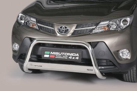 Toyota RAV 4 van 2013 tot 2015 Pushbar 63 mm met CE/EU Certificaat
