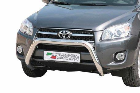Toyota RAV 4 van 2009 tot 2010 Pushbar 76 mm met CE/EU Certificaat