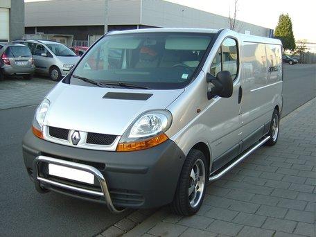 Renault Trafic 2001 tot 2014 L1 Sidebars gebogen naar dorpel