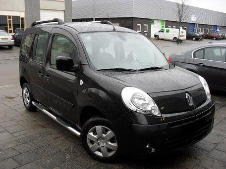 Renault Kangoo vanaf 2008 Sidebars buis 70 mm met 3 steps
