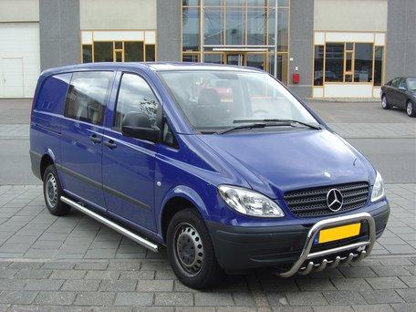 Mercedes Vito / Viano L1 / L2 sidebars buis 70 mm