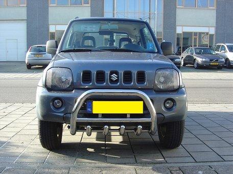 Suzuki Jimny tot 2006 Pushbar met carterbeschermer 60 mm