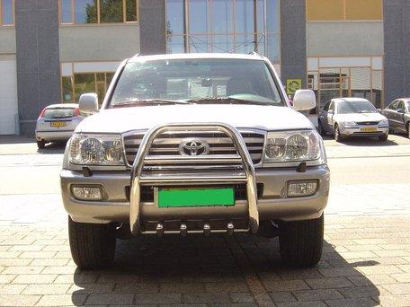 Toyota Landcruiser 100 Pushbar met carterbeschermer 70 mm