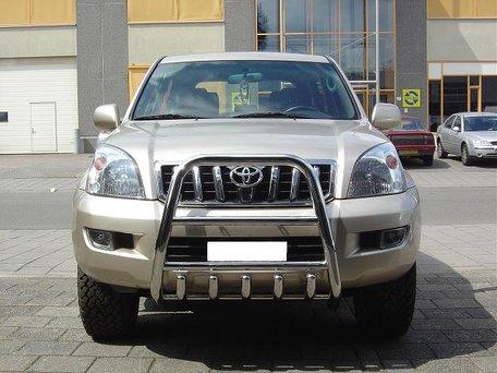 Toyota Landcruiser 120 Pushbar met carterbeschermer 70 mm