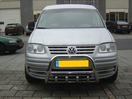Volkswagen Caddy Pushbar met carterbeschermer